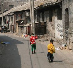 There are still plenty of hu-tongrs (alleys) to be found in Beijing, China