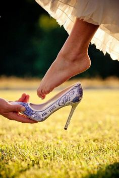 dc548f5efb0 These Custom Wedding Shoes Are Seriously Amazing