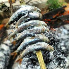 .@Juan Ruiz   Espeto de Sardinas xDDD #sardinas #espeto #malaga #velezmalaga #food #spanish...