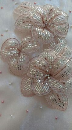 Creative Embroidery, Baby Knitting Patterns, Embellishments, Brooch, Crochet, Jewelry, Seed Beads, Tulle Lace, Needlepoint