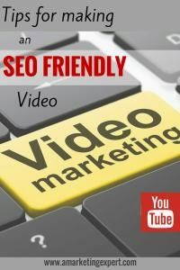 Tips for Making an SEO Friendly Video   Did you know that when you create a video for YouTube that it's automatically transcribed? This means that using keywords in your conversation can really help to spark visibility to your video. Of course, you want to also include keywords in your title and description, too! #smm