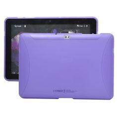 TPU Shell (Lila) Samsung Galaxy Tab 10.1 P7500-Skydd