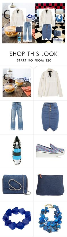 """""""Example set for 'Victory in Victorian shirt!' contest!/Pretty Victorian shirt!"""" by sarah-m-smith ❤ liked on Polyvore featuring Cathy's Concepts, Dsquared2, 3x1, House of Holland, STELLA McCARTNEY, 3.1 Phillip Lim, Maika, John Lewis and NEST Jewelry"""