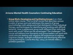 Arizona Mental Health Counselors Continuing Education and License Renewals