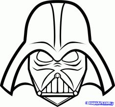 Printable Darth Vader mask
