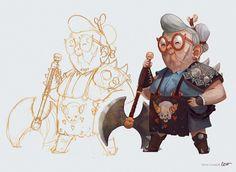 The Barbarian by RodrigoICO