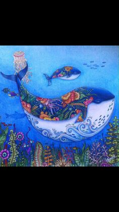 Lost Ocean Johanna Basford Wow, love what the colourist did with this adding all the extra!