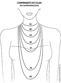DIY Jewelry Legendary Beads: Anchor Bracelet, various other tutorials Necklaces length. Good to know!- Great for helping DIY jewelry making.- Jewelry Making Do It Yourself Jewelry, Bijoux Diy, Necklace Lengths, Necklace Length Chart, Necklace Sizes, Necklace Chart, Necklace Guide, Bracelet Size Chart, Bracelets