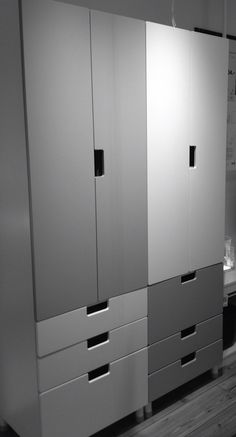 stuva wardrobes ikea for the home pinterest svart bl och garderober. Black Bedroom Furniture Sets. Home Design Ideas