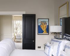 This will make a huge difference to our builder-grade doors. Benjamin Moore jet black, pearl finish