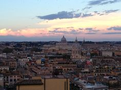 View from the Hotel Hassler Roma