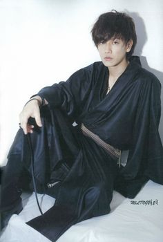 "Sato Takeru - a.a ""Rurouni Kenshin"" Rurouni Kenshin, Asian Male Model, Male Models, Japanese Men, Japanese Kimono, Male Kimono, Men's Kimono, Modern Kimono, Takeru Sato"