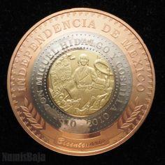 Moneda Trimetalica. MÉXICO