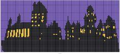 Castle Silhouette 1