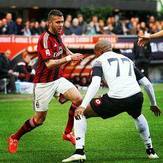 Half Time/Fine Primo Tempo: #MilanCesena 1-0, goal scored by Jack #Bonaventura! #ForzaMilan