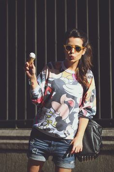 Summer style with EPOS #sunglasses: funny and cool! #styletips