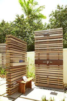 Outdoor Bathrooms, Outdoor Rooms, Outdoor Gardens, Outdoor Living, Outdoor Decor, Outdoor Bars, Outdoor Kitchens, Pool Shower, Garden Shower