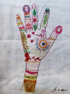 D o k n o m m e a w - p l a y: Playful embroidery # 6 workshop @ joyrukclub