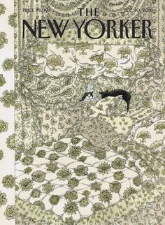 The New Yorker, New Yorker Covers, Pbs Mystery, Edward Gorey Books, Maurice Careme, Alice Book, Victorian Wallpaper, Fancy Cats, Alphabet Book