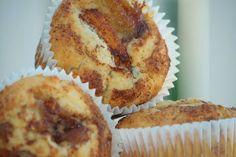 Havre- & äppelmuffins
