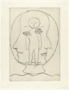 Louise Bourgeois. Self Portrait. 1990