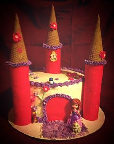 Sophia the first castle cake
