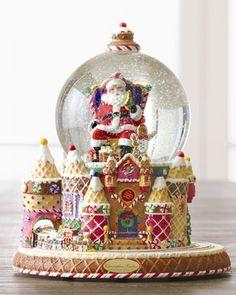 "... and Sweet Treats"" Snow Globe - Christopher Radko at Neiman Marcus"
