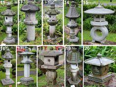 Kigawa's Bonsai Blog: Stone lanterns at Singapore Japanese Garden