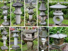 Kigawa's Bonsai Blog: Stone lanterns at Singapore Japanese Garden
