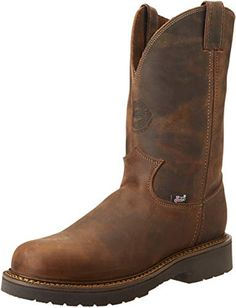Looking for Justin Original Work Boots Men's J-max Pull-On Work Boot ? Check out our picks for the Justin Original Work Boots Men's J-max Pull-On Work Boot from the popular stores - all in one. Cowboy Boots Women, Cowgirl Boots, Western Boots, Riding Boots, Justin Work Boots, Pull On Work Boots, Leather Men, Leather Boots, Leather Sandals