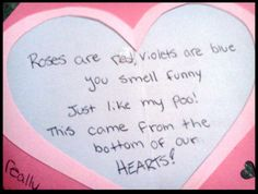 valentine's funny poems