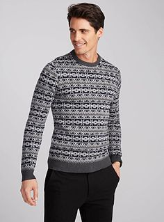 H&M Wool-bland Turtle Neck Sweater, hand wash cold, $59.99 | Men's ...