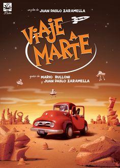 Viaje a Marte / Journey to Mars Direction & Animation: Juan Pablo Zaramella Script: Mario Rulloni and Juan Pablo Zaramella, over an original idea of Mario Ru. The Final Frontier, The Martian, Mars, Script, Journey, Animation, Videos, Illustration, Movies