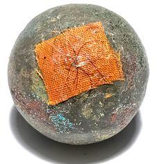 Look Om Rahu Om Jant Dtem Duang 2558 BE - Bucha Sized Eclipse God Powder Ball for Karma Improvement + Prosperity Blessed During Lunar Eclipse - Luang Phu Waen Gaay, $79 U.S.