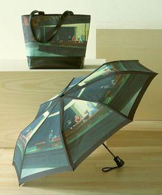 Hopper Tote and Umbrella Set