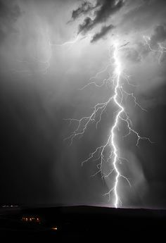 "500px / Photo ""Lightning Tower"" by Christopher Eaton"