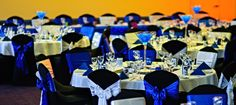 Black, Royal Blue and White Wedding -  by Toowoomba White Wedding and Event Hire, Weddings, Parties, Corporate Functions {Toowoomba, Surrounding Areas}