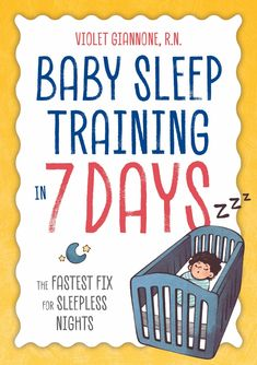 Baby Sleep Training in 8 days available now for preorder https://amzn.to/2LnjA5B