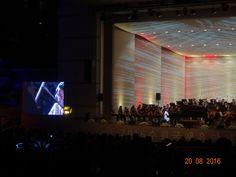 With Suwon Philharmonic Orchestra conducted by maestro Enrique Arturo Diemecke at Suwon international Music Festival Suwon, Orchestra, Concert, Music, Musica, Musik, Concerts, Muziek, Music Activities