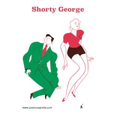 The Shorty George a vernacular jazz dance move seen usually in the dance the Lindy Hop #Lindyhop #swingdance