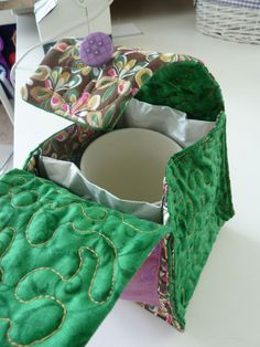 mug bag - need to figure out how to make a mug bag that unfolds into a mug rug!!