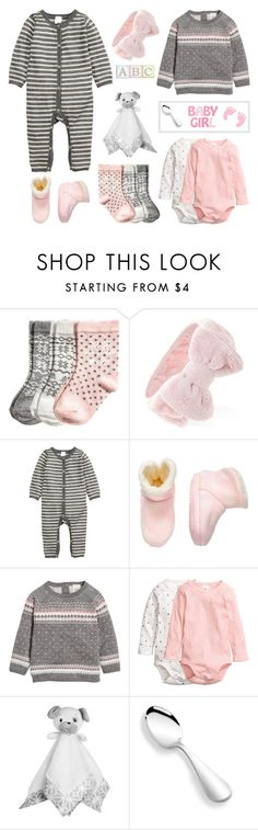 """Sweet Baby Girl"" by mcheffer ❤ liked on Polyvore featuring Forever 21, H&M, FOOTPRINTS, Baby and infantstyle"