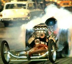 24 Trendy Old Fast Cars Drag Racing Top Fuel Dragster, Nhra Drag Racing, Cute Cars, Funny Cars, Old Race Cars, Vintage Race Car, Drag Cars, Car Humor, Fast Cars