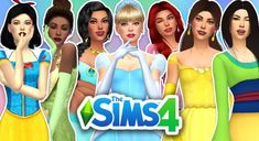 Today we're playing the Sims 4 and doing a DISNEY PRINCESS CAS video using custom content! You guys loved my last video on Sims 4 Rainbow CAS, and . Disney Pixar, Walt Disney, Disney Princess Dresses, Disney Dresses, Hans Christian, Packs The Sims 4, Princesa Jasmine, Charles Perrault, Sims 4 Dresses