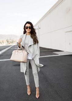 GREY AND NUDE Hello Fashion waysify