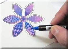 Zentangle Patterns Step By Step - Bing Afbeeldingen