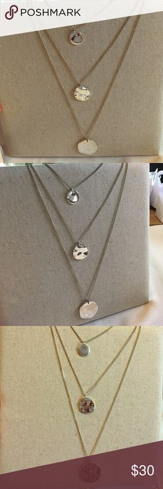 Chloe + Isabel Three Row Graduated Pendant ⭐️ Lightly worn but in like new condition! 🛍 Bundle & Save 🛍 Open to Offers!! ⭐️ Chloe + Isabel Jewelry Necklaces