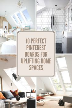 Daylight and Mood: Discover 10 perfect Pinterest boards for uplifting home spaces #VELUXdaylight Loft Playroom, Bedroom Loft, Kids Bedroom, Play Spaces, Loft Spaces, Single Storey Extension, Roof Beam, Roof Window, Bright Kitchens