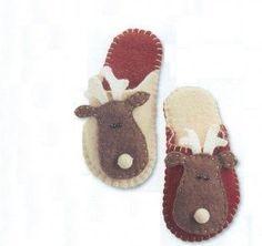 Home felt slippers