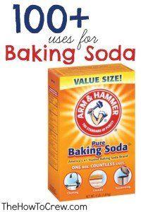 How-To Use Baking Soda {100+ Uses}